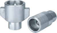 KSN WING NUT /HEAVY DUTY THREAD - TO CONNECT COUPLINGS