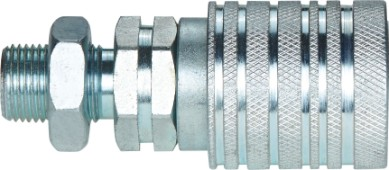 ISO 5675 PUSH PULL DOUBLE SHUT OFF COUPLINGS (CARBON STEEL)