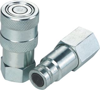 ISO 16028 FLAT-FACE QUICK COUPLINGS(CARBON STEEL/STAINLESS STEEL)
